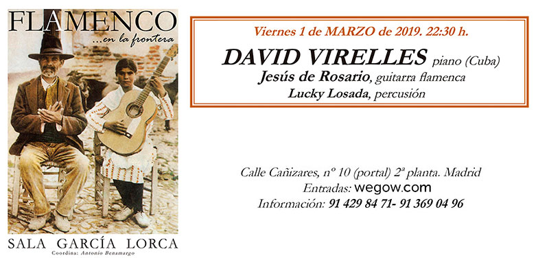 David Virelles - Flamenco en la Frontera - Sala García Lorca