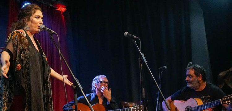 Estrella Morente homenajea a Moncho en el Café Berlín