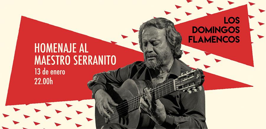 Homenaje a Serranito - Domingos Flamencos - Teatro Flamenco Madrid