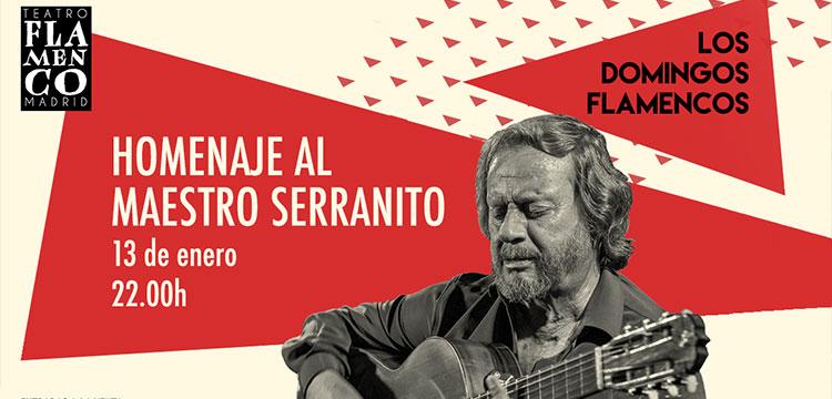 Gala homenaje al maestro Serranito