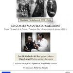 Lo Cortes no quita lo Gallardo. Ateneo de Madrid