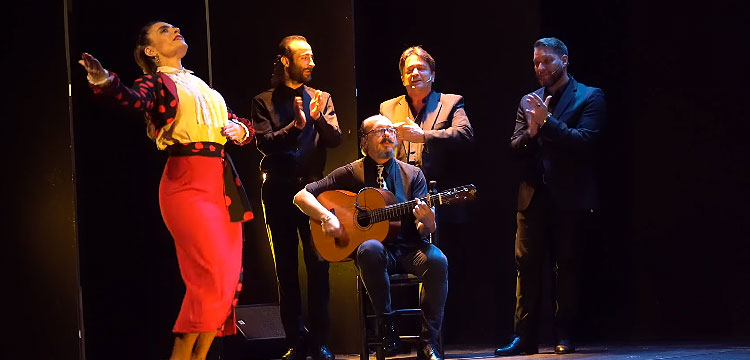 María Juncal & Sergio Aranda en Teatro Flamenco Madrid – videos