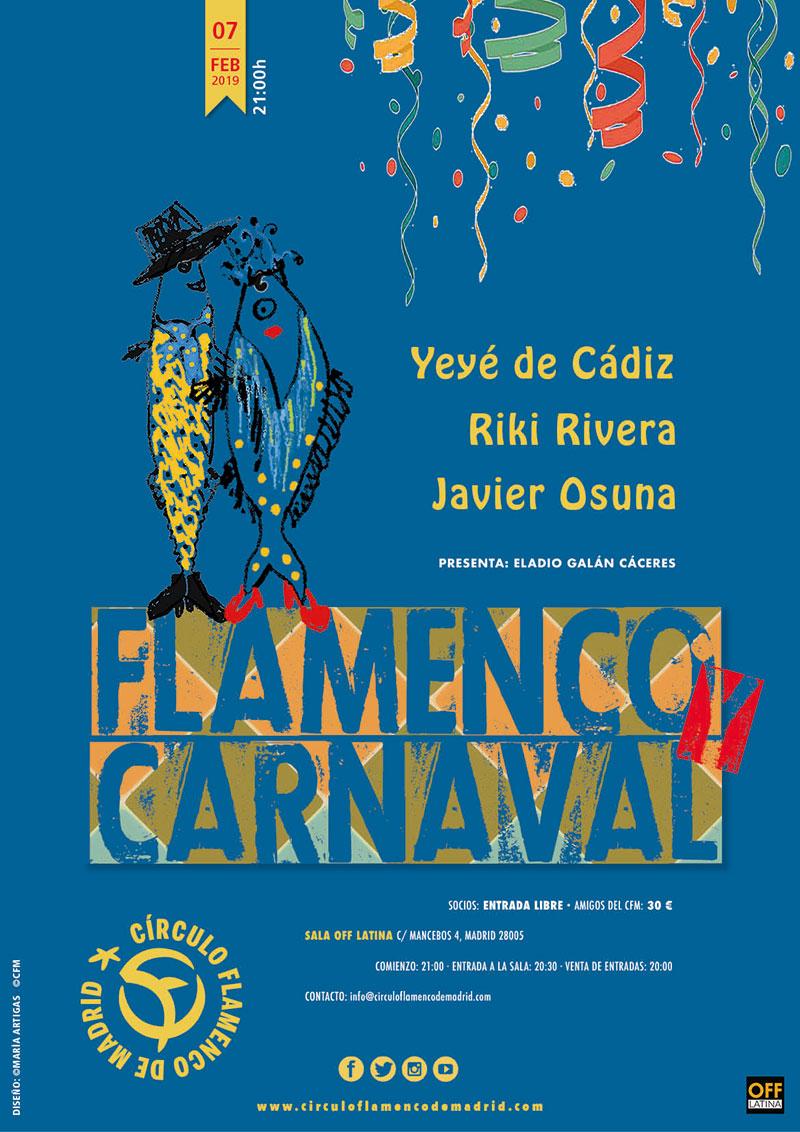 Flamenco Carnaval - Círculo Flamenco de Madrid
