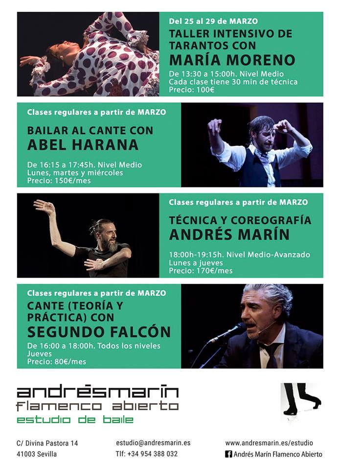 Andrés Marín Estudio abierto
