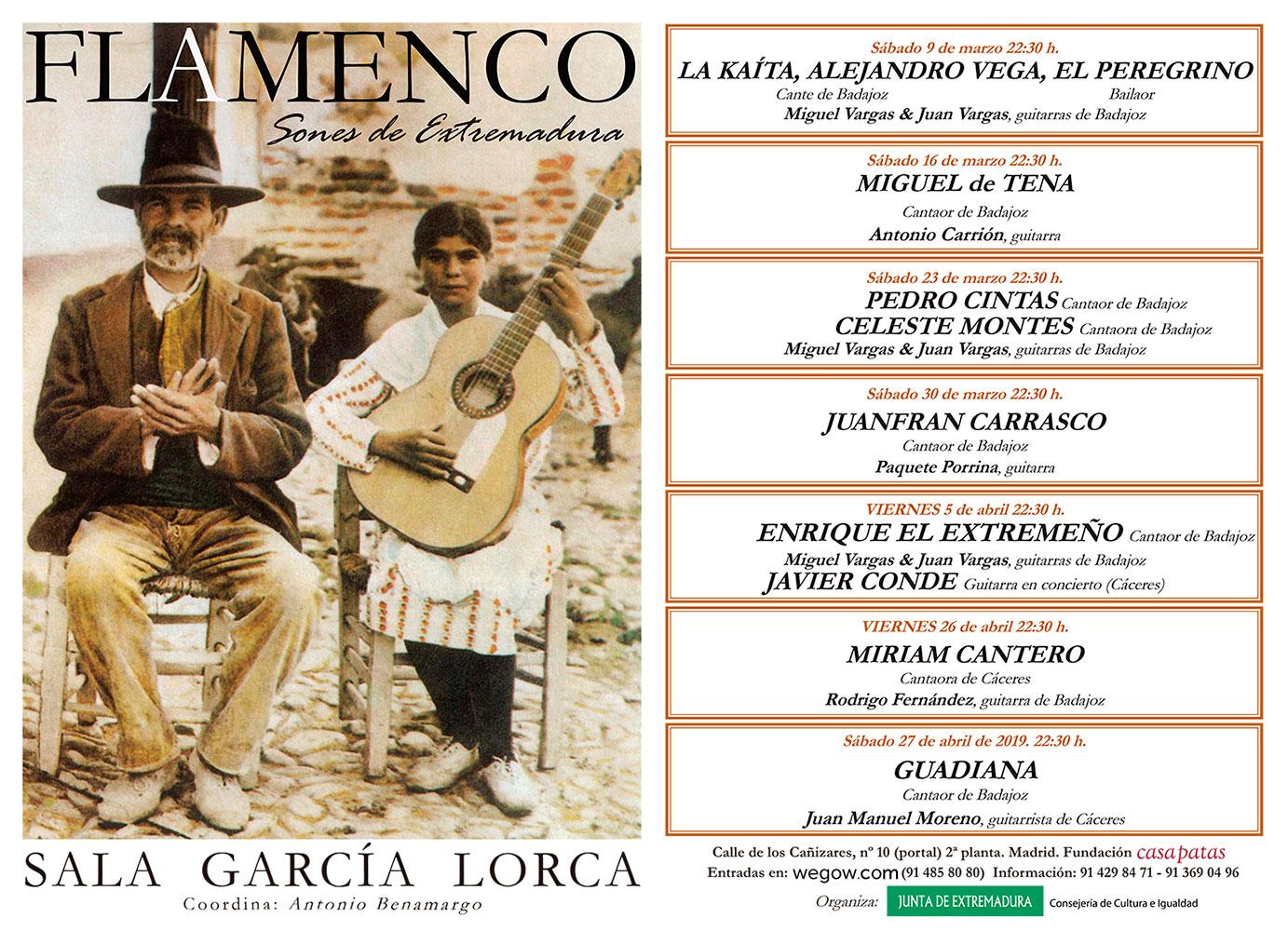 Sones de Extremadura - Sala García Lorca