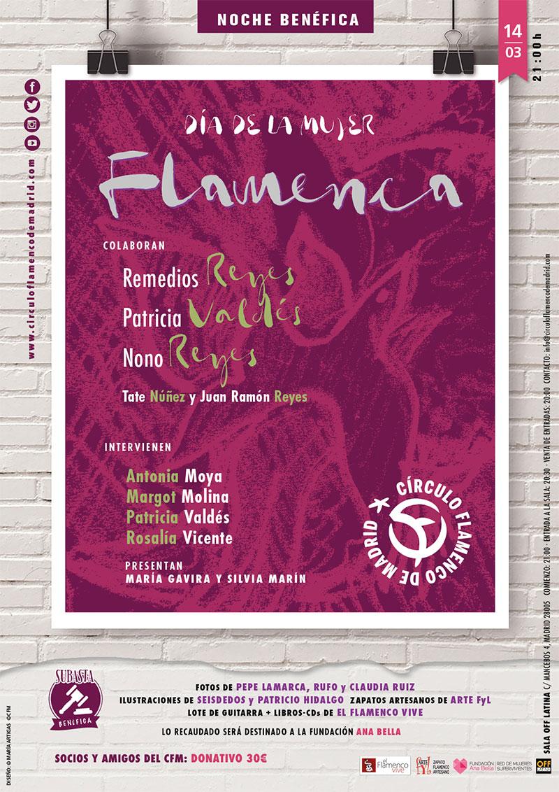 Día de la mujer flamenca en Círculo Flamenco Madrid