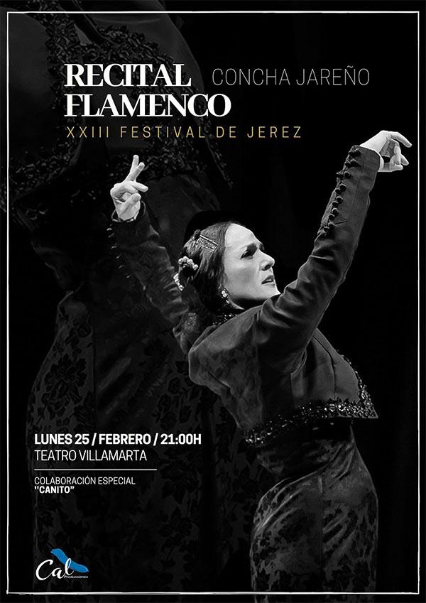 Concha Jareño en el Festival de Jerez
