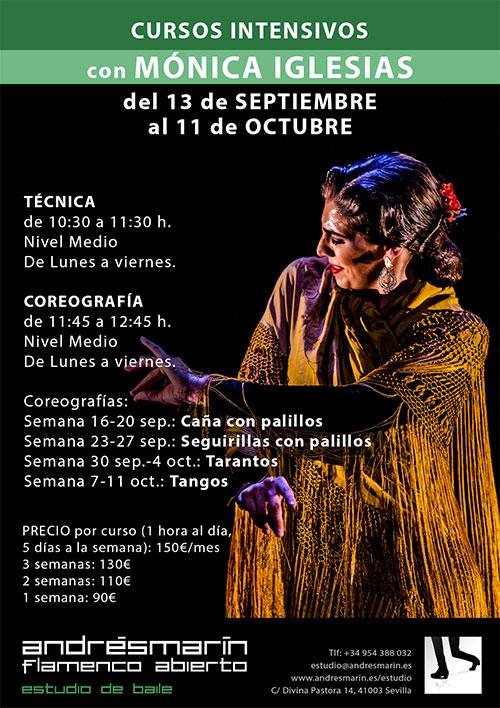 Curso Mónica Iglesias - Andrés Marin estudio