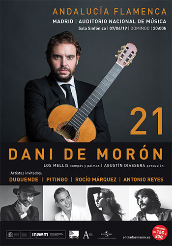"Dani de Morón - ""21"" - Auditorio Nacional de Madrid"