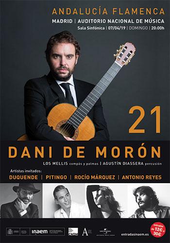 "Dani de Morón - ""21"" - Auditorio Nacional de Madrid"