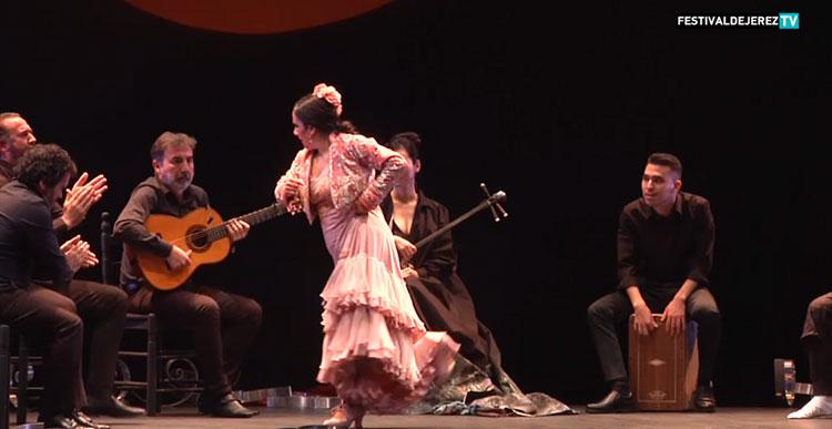 Eva Yerbabuena «Cuentos de azúcar» Festival de Jerez (video)