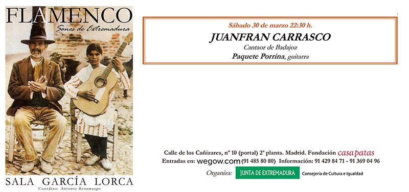 Juanfran Carrasco - Sones de Extremadura