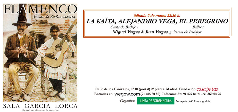 La Kaita, Alejandro Vega, El Peregrino - Sones de Extremadura