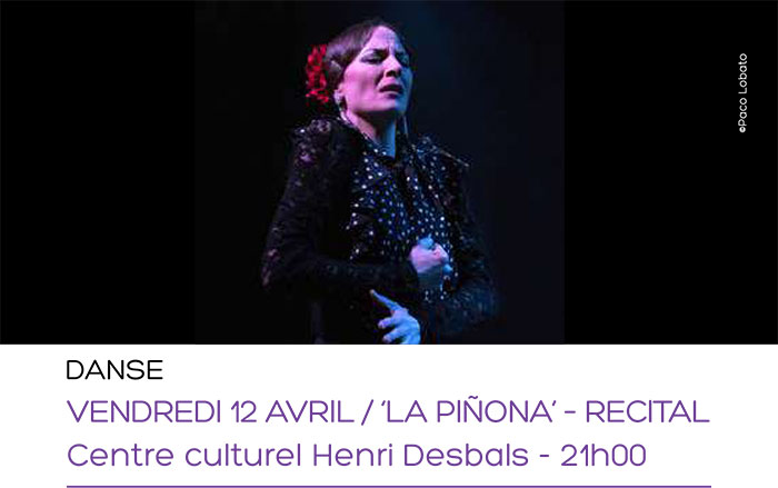 Festival Flamenco Toulouse 2019 Lucía la Piñona