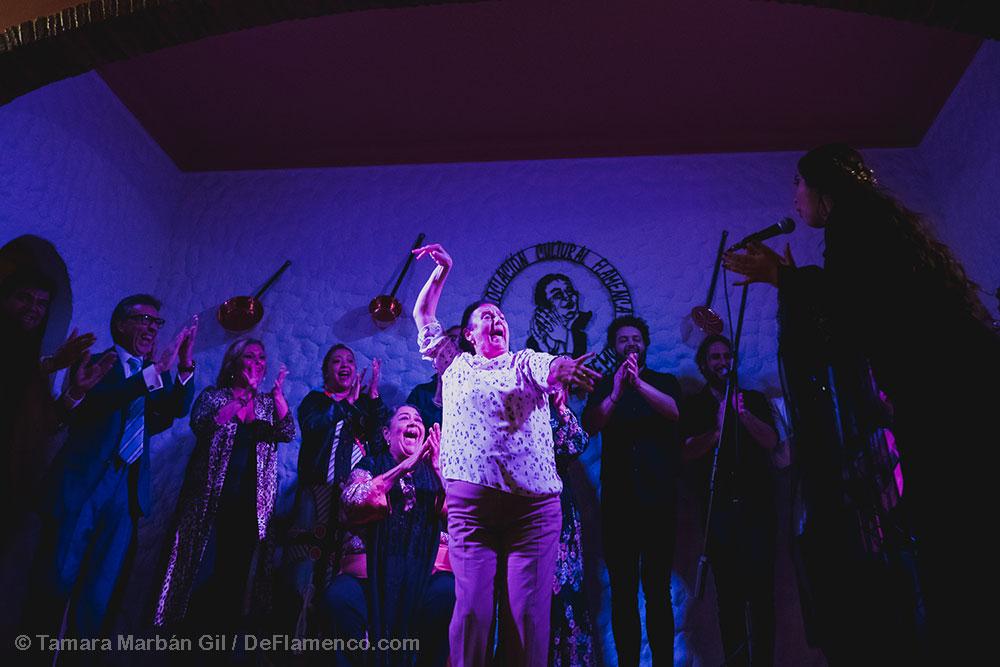 Guia Flamenco de Jerez María Terremoto e nPeña Flamenca Terremoto