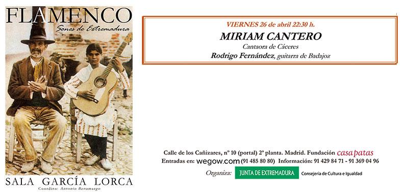 Miriam Cantero - Sones de Extremadura