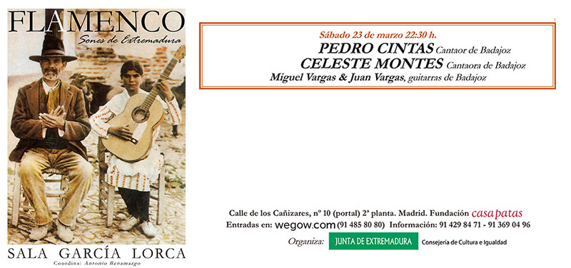 Pedro Cintas & Celeste Montes - Sones de Extremadura