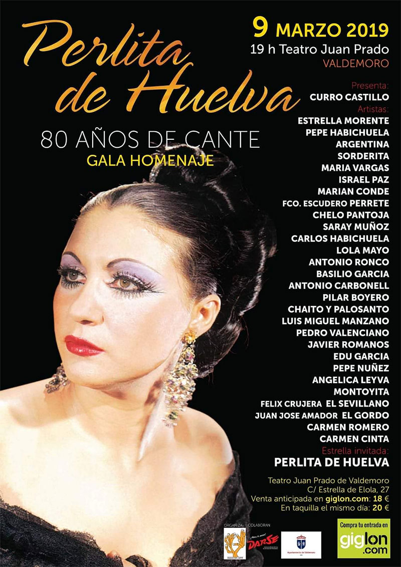 Perlita de Huelva - Gala Homenaje