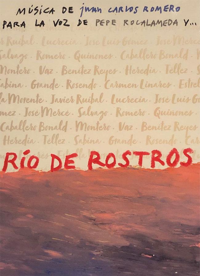 Rio de rostros – Libro + CD  – Juan Carlos Romero & Pepe Roca