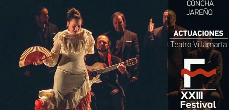 Concha Jareño en Festival de Jerez (video)