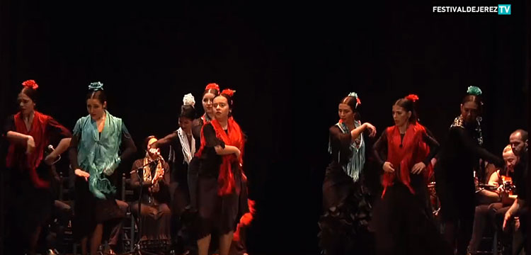 Concurso Internacional de Baile Flamenco Puro de Turín (video)