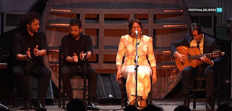 Lela Soto en el Festival de Jerez (video)