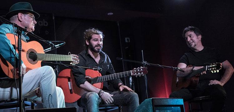 Guitar Capo – Alfredo Lagos, José Luis Montón,  y Luis Gallo (video + fotos)