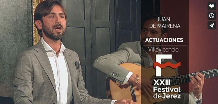 Juan de Mairena en el Festival de Jerez (video)
