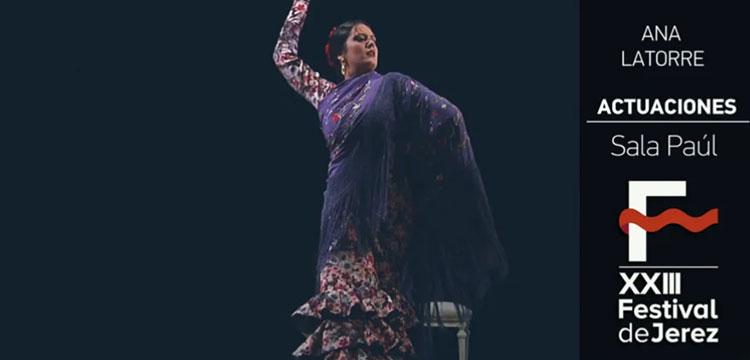 Ana Latorre en el Festival de Jerez (video)