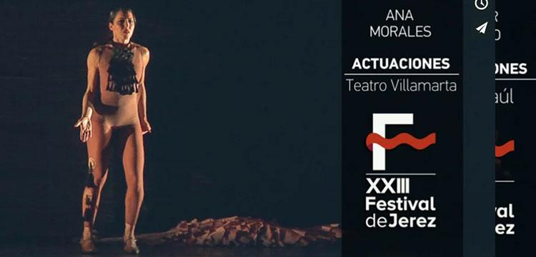 Ana Morales en el Festival de Jerez (video)