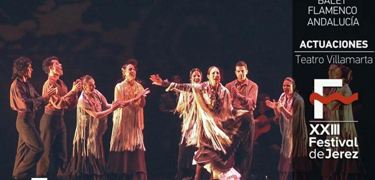 Ballet Flamenco Andalucía en el Festival de Jerez (video)