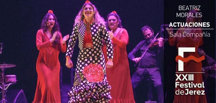 Video Beatriz Morales en el Festival de Jerez (video)