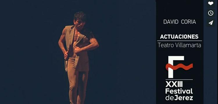 Video David Coria «Anónimo» en el Festival de Jerez