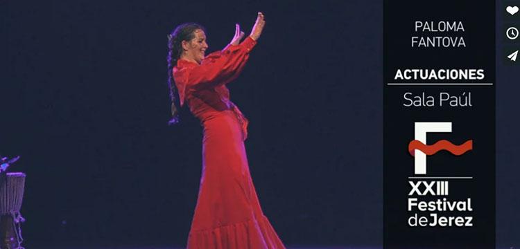 Paloma Fantova en el Festival de Jerez (video)