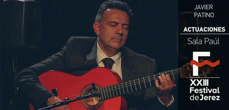 Javier Patino en el Festival de Jerez (video)