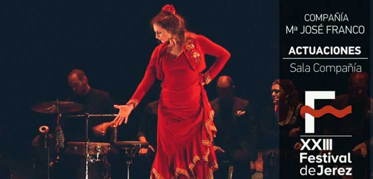 María José Franco en el Festival de Jerez (video)
