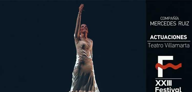 Mercedes Ruiz «Tauromagia» en el Festival de Jerez (video)