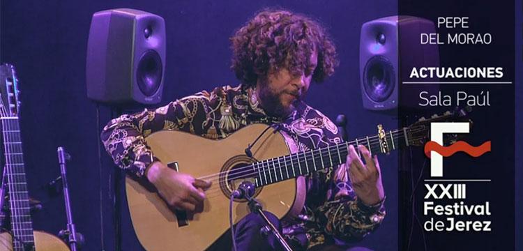 Pepe del Morao en el Festival de Jerez (fotos)