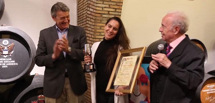 Rafaela Carrasco recibe el Premio de la Crítica del XXII Festival de Jerez
