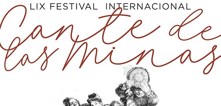 Cartel del LIX Festival Internacional del Cante de las Minas 2019