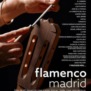 Cartel Flamenco Madrid 2019