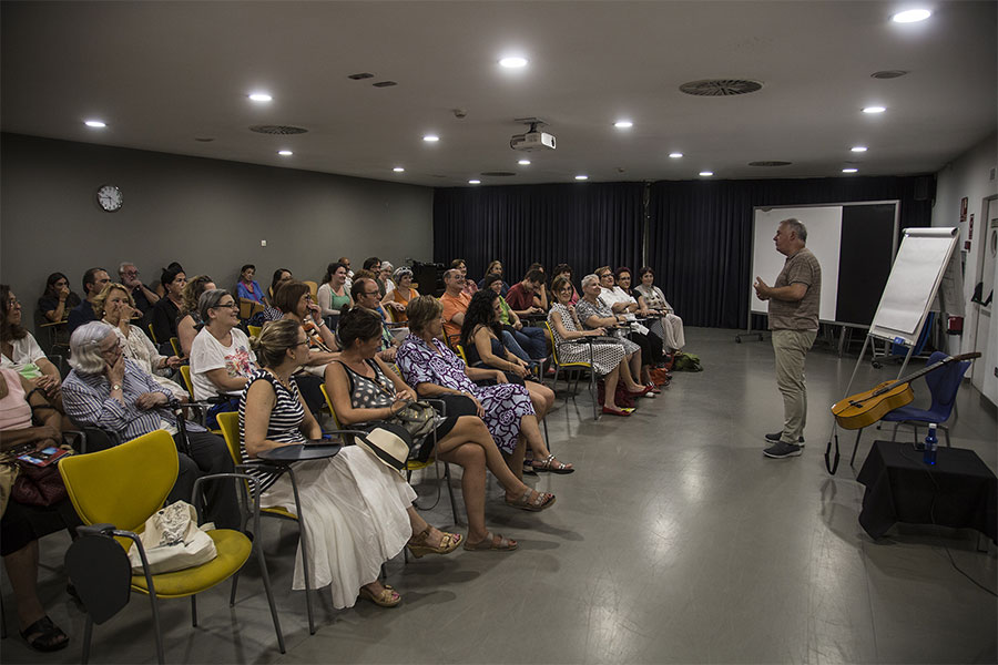Faustino Núñez, conferencia en Flamenco on Fire 2018