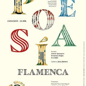 Velada Poesia Flamenca
