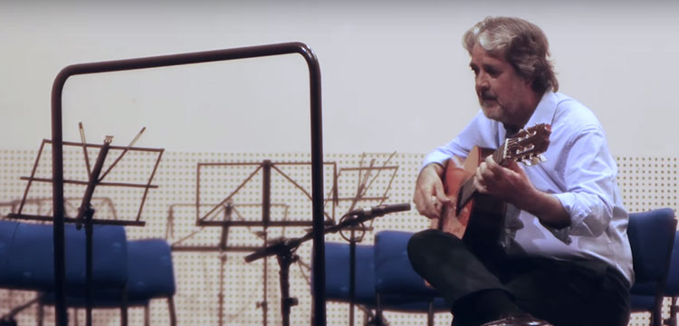 "Rafael Riqueni ""Farruca Bachiana"" (video)"