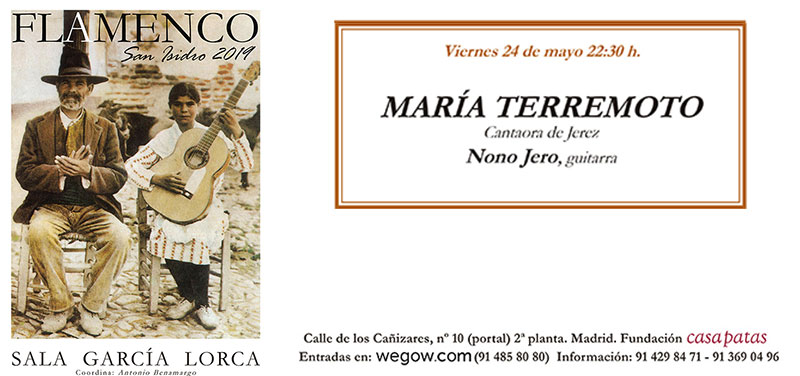 María Terremoto - San Isidro Flamenco