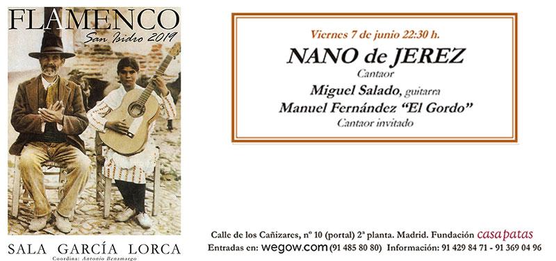 Nano de Jerez - San Isidro Flamenco