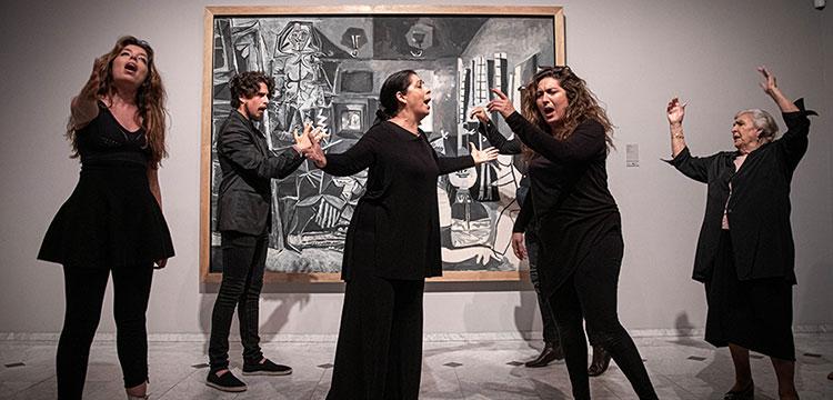 'EN EL NOMBRE DEL PADRE' – Performance de la familia Morente en el Museo Picasso de Barcelona