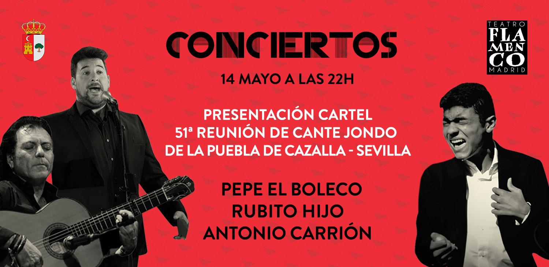 Presentación del cartel de la 51ª Reunión de Cante Jondo