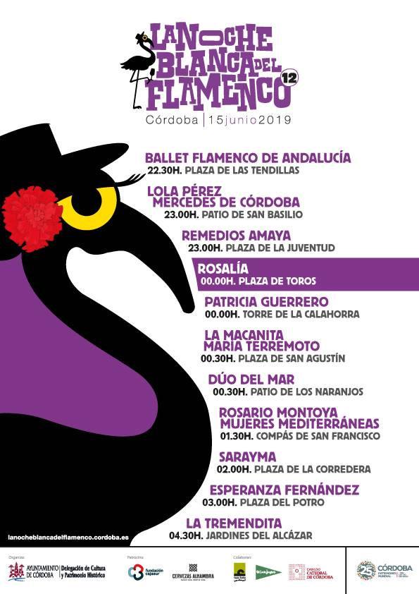 Noche Blanca del Flamenco Córdoba 2019