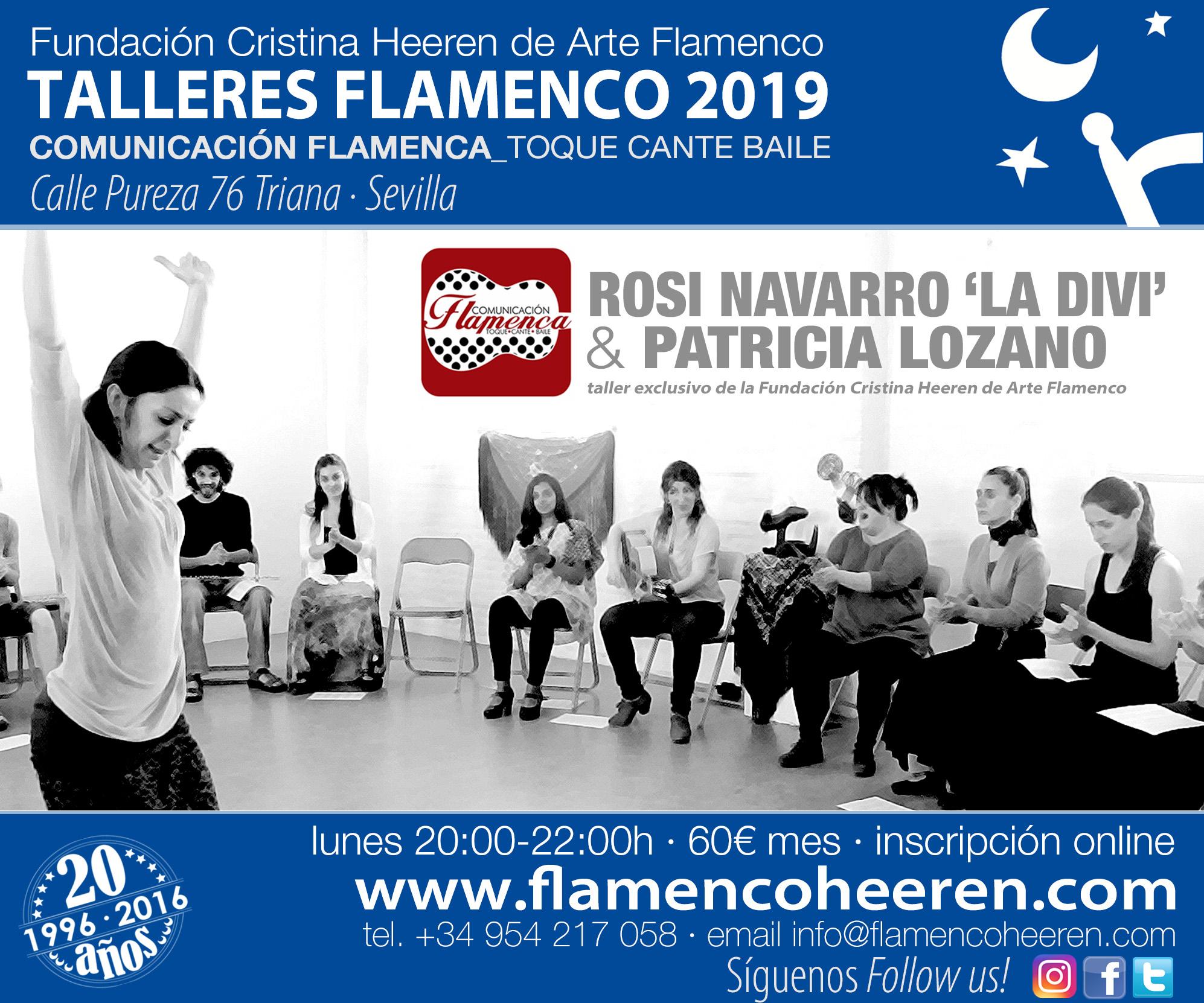 Talleres Flamenco 2019 - Cristina Heeren